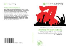 Bookcover of Artificial Horizon (Album)