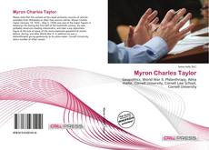 Bookcover of Myron Charles Taylor