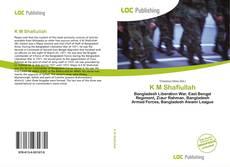 K M Shafiullah kitap kapağı