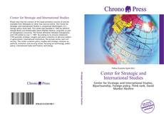 Bookcover of Center for Strategic and International Studies