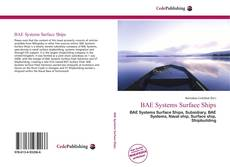 Bookcover of BAE Systems Surface Ships