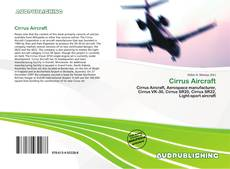 Bookcover of Cirrus Aircraft