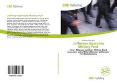Bookcover of Jefferson Barracks Military Post