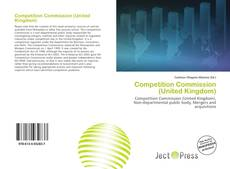 Bookcover of Competition Commission (United Kingdom)