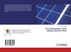 Bookcover of Characterization of Al-doped CdS thin films