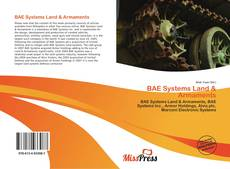 Bookcover of BAE Systems Land & Armaments