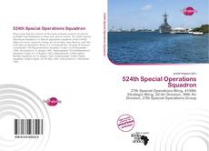 Portada del libro de 524th Special Operations Squadron