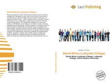 Buchcover von Daniel Weiss (Lafayette College)