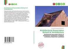Обложка Architectural Association School of Architecture