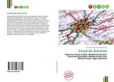 Portada del libro de Canal de Garonne