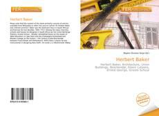 Herbert Baker kitap kapağı