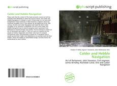 Bookcover of Calder and Hebble Navigation