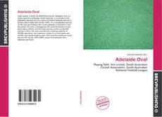 Обложка Adelaide Oval