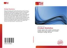 Bookcover of Cricket Statistics