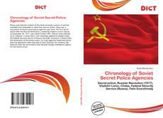 Обложка Chronology of Soviet Secret Police Agencies