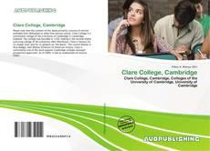 Bookcover of Clare College, Cambridge