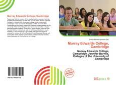 Couverture de Murray Edwards College, Cambridge