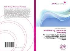 Обложка Matt McCoy (American Football)