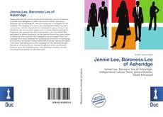 Capa do livro de Jennie Lee, Baroness Lee of Asheridge