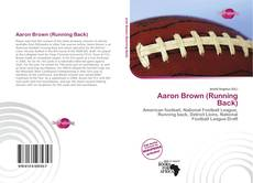 Portada del libro de Aaron Brown (Running Back)
