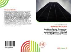 Borítókép a  Barbican Estate - hoz