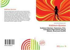 Couverture de Kathleen Quinlan