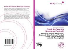 Обложка Frank McCormick (American Football)