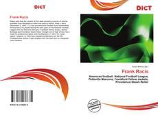 Buchcover von Frank Racis