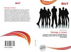 Buchcover von George J. Lewis