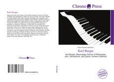 Buchcover von Karl Berger