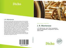 Portada del libro de J. R. Monterose
