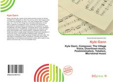 Bookcover of Kyle Gann
