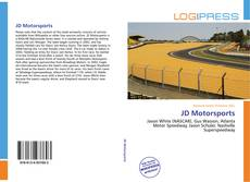 JD Motorsports kitap kapağı