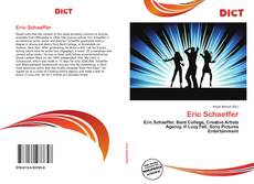 Bookcover of Eric Schaeffer