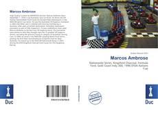 Portada del libro de Marcos Ambrose