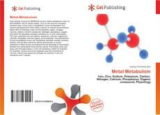 Bookcover of Metal Metabolism