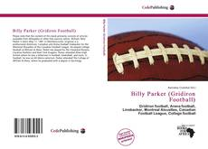 Buchcover von Billy Parker (Gridiron Football)