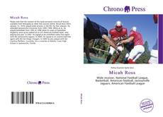 Micah Ross kitap kapağı
