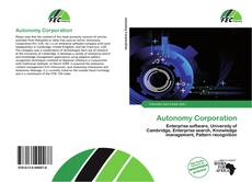 Bookcover of Autonomy Corporation