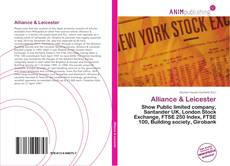 Bookcover of Alliance & Leicester