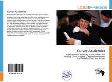 Capa do livro de Culver Academies