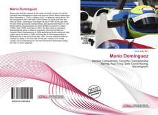 Обложка Mario Domínguez