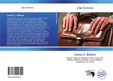 Bookcover of James C. Bolton