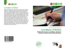Bookcover of Lord Mayor of Belfast