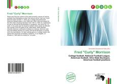 "Bookcover of Fred ""Curly"" Morrison"