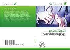 Capa do livro de John Eldon Gorst
