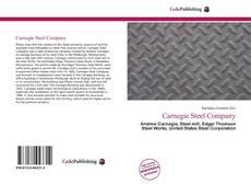 Carnegie Steel Company kitap kapağı
