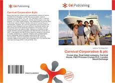 Couverture de Carnival Corporation & plc