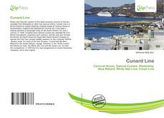 Cunard Line kitap kapağı