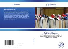 Bookcover of Anthony Boucher